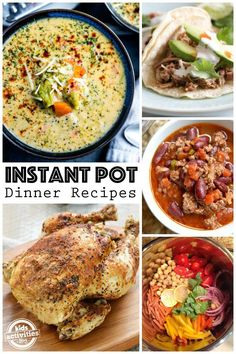 Have you joined the Instant Pot craze? It is seriously my favorite kitchen tool. And we've found some of the best Instant Pot recipes to share with you! Best Instant Pot Recipe, Instant Pot Dinner Recipes, Delicious Dinner Recipes, Crockpot Recipes, Cooking Recipes, Healthy Recipes, Pasta Recipes, Chicken Recipes, Weeknight Recipes