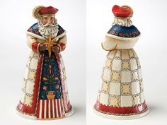 Jim Shore 'Wesolych Swiat' -Polish Santa Figurine (Santas Around the World, January 2011)