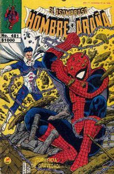 Cover for El Asombroso Hombre Araña (Novedades, 1980 series) #481