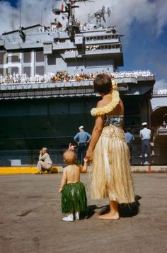 Pearl Harbor, 1959.   inShare 2 Share on Tumblr  CULTURE '50s The image and legend of Hawaii as a tropical paradise endures for countless re...