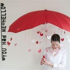DIY Valentijn's paraplu