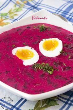 Botwinka Kitchen Recipes, Soup Recipes, Vegetarian Recipes, Cooking Recipes, Healthy Recipes, Cooking Ideas, Healthy Soup, Healthy Eating, Diet