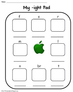Worksheets Ight Words Worksheet ight word family worksheets 17 best images about activities on pinterest the