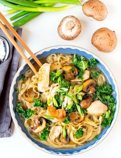 Nigel Slater's Chicken Noodle Soup - Easy and delicious!