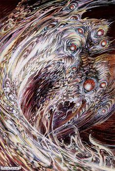 floserber:  Enrique Alcatena, H.P. Lovecraft, Bestiario: Shoggoth, 2008  왠지 뭔가 새로운 느낌 무섭기도하면서