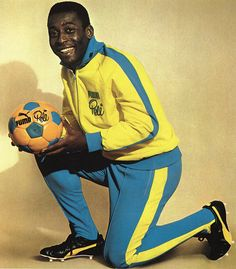 Pele and Puma in collaboration, 1971 Brazil Football Team, Olympic Football, World Football, School Football, Football Soccer, Football Boots, Brazil Team, Table Football, Brazil Brazil