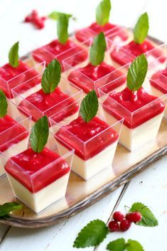 Appetizers For Party, Beverages, Drinks, Panna Cotta, Deserts, Good Food, Goodies, Dessert Recipes, Food And Drink