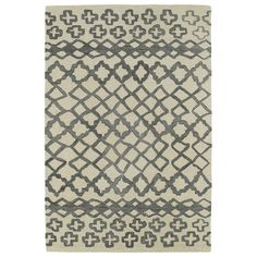 Shop AllModern for Kaleen Casablanca Gray Geometric Area Rug - Great Deals on all  products with the best selection to choose from!