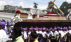 Semana Santa - Procesión Infantil Réplica del Nazareno de Candelaria (Guatemala, 2014)