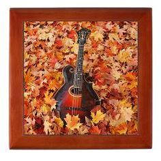 Gibson Mandolin (Mandola) in Autumn Leaves Keepsake Box ($22.99)