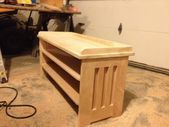 Shoe Rack Bench Plans free woodworking plans for beginners – Home . Shoe Storage Pallet, Entryway Shoe Storage, Shoe Rack Plans, Shoe Rack Bench, Storage Bench With Cushion, Bench With Shoe Storage, Woodworking Jointer, Woodworking Plans, Youtube Woodworking