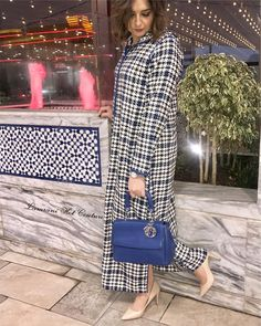 New Collection 💙 @lamrani_hot_couture . . . . . . . . . #caftan #djellaba #chic #classy #glamour #handmade #couture #dubaifashion #moroccanblogger #moroccanfashion #moroccanstyle #جلابيات #جلابيات_فخمه #جلابيات_رمضان #جلابيات_راقية Dubai Fashion, Abaya Fashion, Fashion Dresses, Moroccan Dress, Kamiz, Designs For Dresses, African Dresses For Women, Hijab Outfit, Kaftan