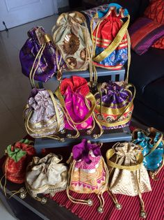 Collection of Potli Bags