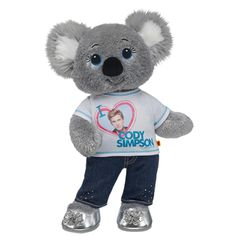 #1 Fan Cody Simpson Koala with Wish U Were Here Song - Build-A-Bear Workshop US $50.50