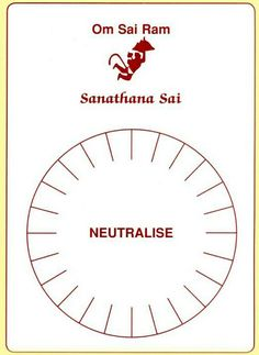 Sanjeevini Neutralise. Neutralizes negative energy in food, medicine etc,