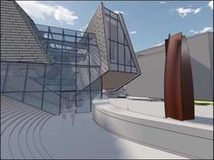 Orange County Museum of Art Bauhaus, Orange County, Virtual Reality, Art Museum, Skyscraper, Multi Story Building, House Design, Fine Art, Architecture