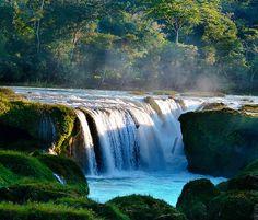 Las Nubes Waterfall, Chiapas | Mexico (by DrCarlosAMG)