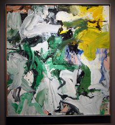 """Untitled XV"" by de Kooning"