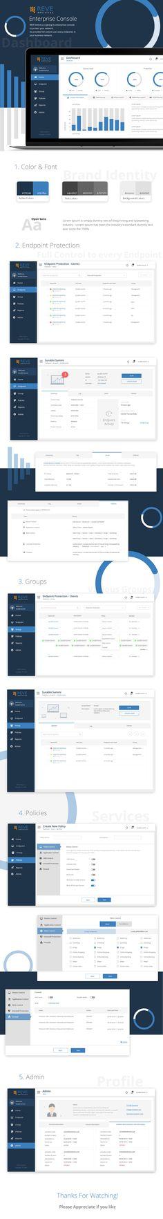 "Check out my @Behance project: ""Enterprises Console"" https://www.behance.net/gallery/64509709/Enterprises-Console"
