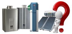 Tank-less water heaters? Hybrid electric/heat-pump models? Solar water-heaters? Condensing Gas heaters?  Really Which one will you choose?