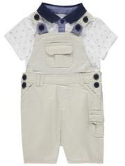 Dungarees and Polo Top Set