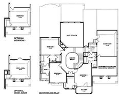 Bellview New Home Plan in Cinco Ranch Northwest Classic and