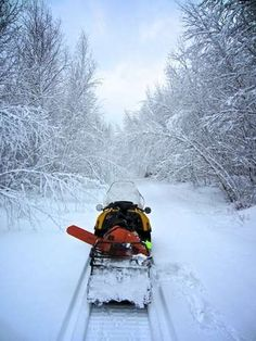 Photos - Snowmobiling in Wisconsin