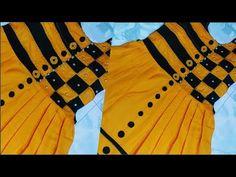 😍মাত্র 100 টাকার কাপড় দিয়ে এত সুন্দর জামা😮 ফুল ভিডিও। Unique designer frock.Baby frock.beautiful - YouTube Girls Dresses Sewing, Stylish Dresses For Girls, Stylish Clothes For Women, Girls Fashion Clothes, Dresses Kids Girl, Kids Fashion, Girl Outfits, Baby Frocks Designs, Kids Frocks Design
