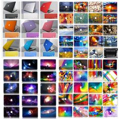 Rubberized Hard Painting Case+Keyboard Cover for Macbook Air Pro 11 13 15 Retina