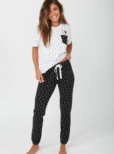 New in nightwear - Sleep in style with the new range of nightwear for 2018 from Boux Avenue. Shop the latest in womens pyjamas, chemises, dressing gowns, negligee and more. Cute Pajama Sets, Cute Pjs, Cute Pajamas, Pajamas Women, Cute Lazy Outfits, Kids Outfits, Casual Outfits, Fashion Outfits, Pyjamas