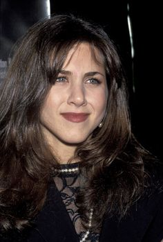 Jennifer Aniston at the 1992 Leprechaun premiere.