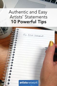 Is there such a thing as writing an easy artist's statement? Here are 10 tips to make the process feel more authentic and much less daunting. Artist Resume, Artist Branding, Acrylic Painting Tips, Watercolor Tips, Illustrator Tutorials, Art Tutorials, Selling Art, Learn To Paint, Art Tips