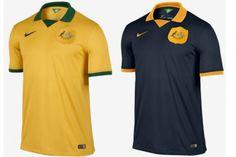 Uniforme Australia Copa do Mundo 2014