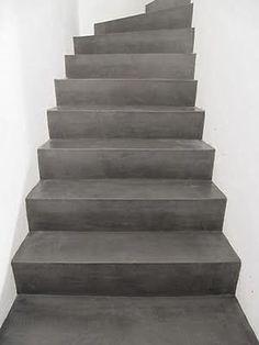 gepolierde trap in beton - Google zoeken