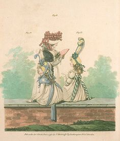 Gallery of Fashion, Figures 10, 11, & 12.  June 1794