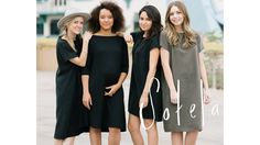 Sizes may change, but your style shouldn't have to. Sotela is solving the nothing fits dilemma with 3 dresses that span multiple sizes.