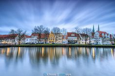 Blue Lübeck - Blue hour, lights, long exposure, reflections... my favorite ingredients during cityscapes occasions.