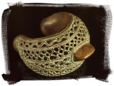 Africa | Bronze cuff from the Kapsiki people of Northern Cameroon | 52.50€