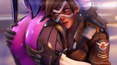 Трейсер из Overwatch - лесбиянка