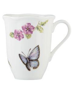 Lenox Dinnerware, Butterfly Meadow Bloom Mug