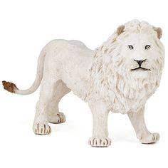 White Lion Papo figurine   Worldwide Shipping www.minizoo.com.au
