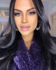 how old is natti natasha Glam Makeup, Beauty Makeup, Hair Makeup, Hair Beauty, Beautiful Eyes, Beautiful Women, Mexican Actress, Becky G, Celebs