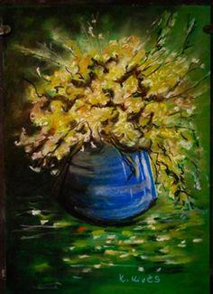 K.Kivés Art - Képgaléria - Kedvenc képeim Techno, Plants, Painting, Art, Painting Art, Flora, Paintings, Kunst, Plant