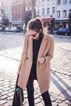 The Camel Coat Obsession • @SavvyHome