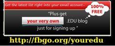 Your Free .Edu Blog