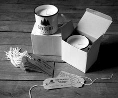 Nuestras tazas de acero esmaltado RETROPOT con diseños de BIVOUAK PARIS. Con velas <3 www.retropot.es Tazas de metal, personalizadas y colección propia. Tazas de acero esmaltado RETROPOT retro y vintage