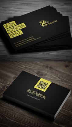 Dark Individual Business Card #businesscards #psdtemplate #printready #businesscardtemplate