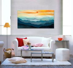 Love this mountain-scape