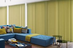 ENIGMA GLORY. Moving from left to right this linear metallic print extenuates light flow through the gradually thickening metallic line - making it an ideal vertical blind fabric for creating light and airy atmospheres. As it comes in five hues you can keep your room neutral or enhance the light with a bright colour choice! Recommended for moist conditions, so it is a fantastic material for adding a beautiful elegance to your bathroom, conservatory or kitchen.