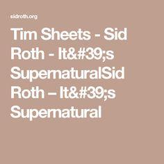 Tim Sheets - Sid Roth - It's SupernaturalSid Roth – It's Supernatural